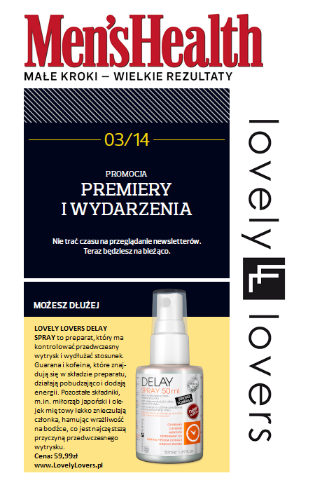 Lovely Lovers- Delay Spray - sexdrogeria.pl