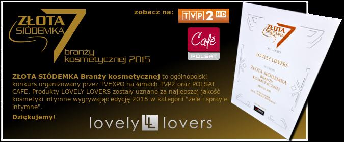lovely lovers złota siódemka branży kosmetycznej