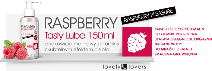 lovely lovers lovelylovers raspberry tasty lube