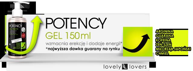 potency gel lovely lovers działanie